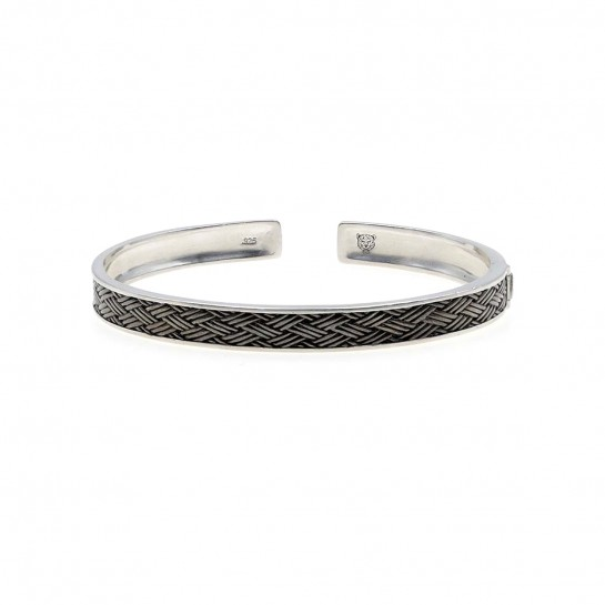 Silver bangle  EUSEBIA